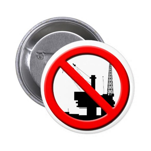 No Offshore Drilling Button