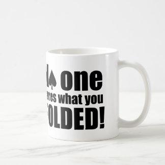 No One Cares What You Folded Basic White Mug