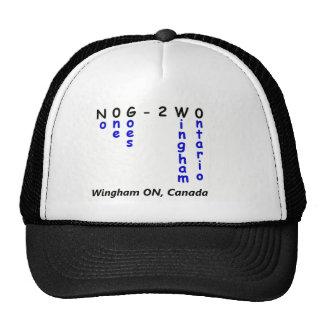 No One Goes To Wingham Ontario Merchandise Cap
