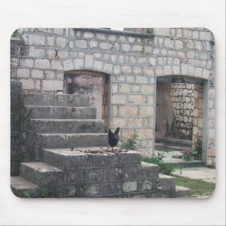 No One Here But Us Chickens Mouse Mat
