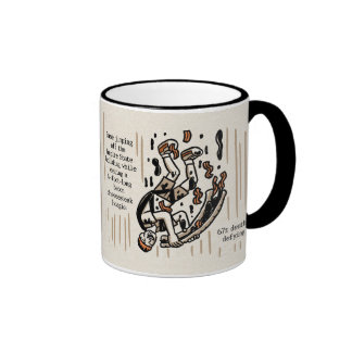 No One Likes a One-Upper 11 oz Ringer Mug