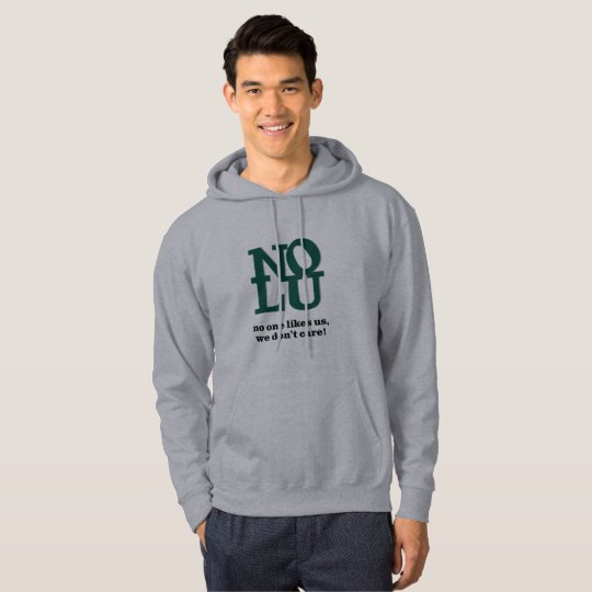 No One Likes Us | Philly Men's Hoodie