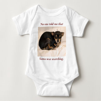 No one told me that Santa  was watching. T Shirts