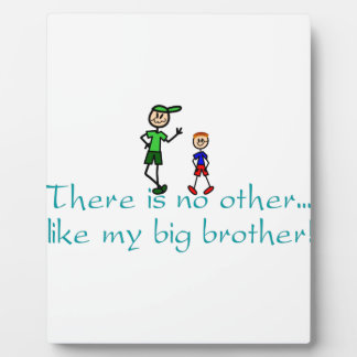 No Other Big Brother Photo Plaques