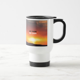 No Pain No Gain Coffee Mugs