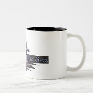 no pain. no gain. mug
