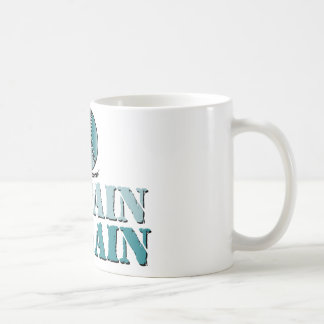 No pain, no gain - softball/baseball (teal) coffee mug