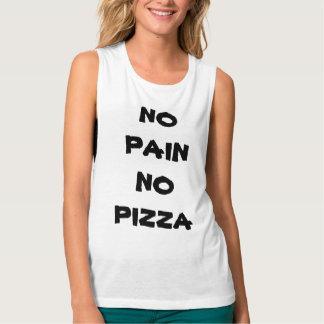 NO PAIN NO PIZZA TANK TOP