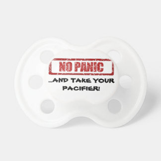 No panic dummy