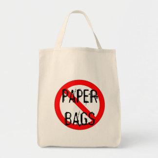 NO PAPER BAGS -