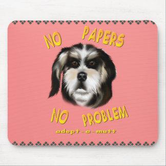 No Papers No Problem  Mousepad
