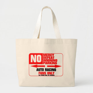 No Parking Auto Racing Sign Bags