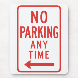 No Parking (Left) Mouse Pad