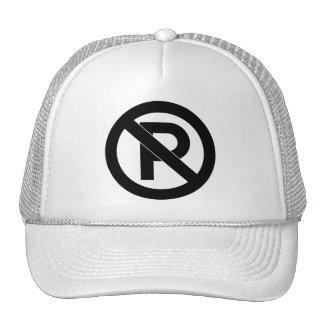 No Parking Symbol Mesh Hat