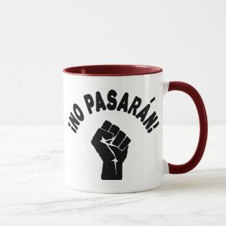 No Pasaran - They Shall Not Pass Mug