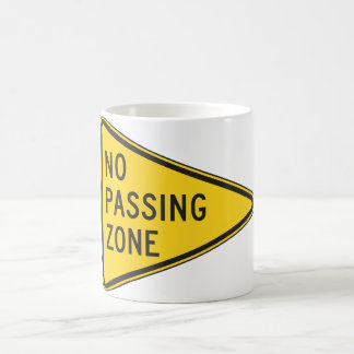 No Passing Zone Mug