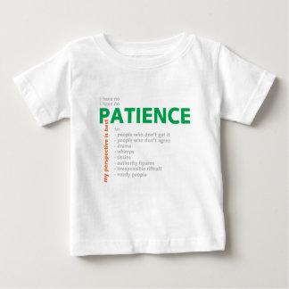 No Patience - Villain T Shirts