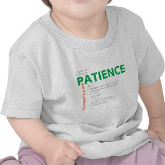 No Patience - Villain Tee Shirt