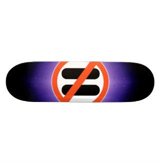 No pause for break 21.6 cm skateboard deck