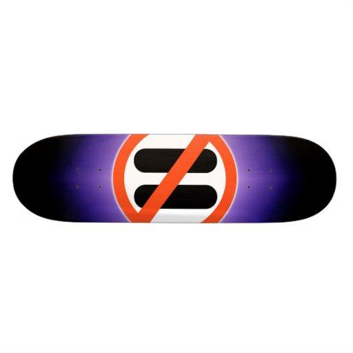 No pause for break skateboard deck