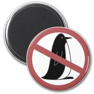 No Penguins Magnet