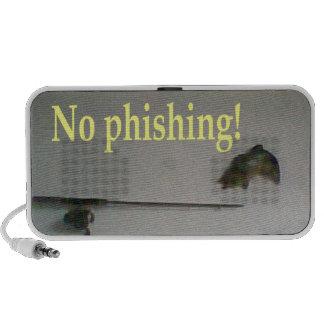 No phishing iPod speakers