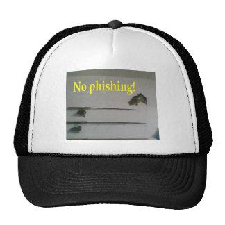 No phishing trucker hats