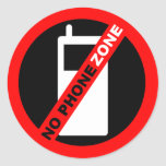 """No Phone Zone"" Stickers"
