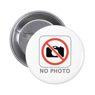 No Photo 6 Cm Round Badge