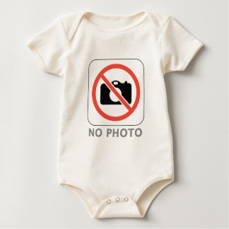 No Photo Baby Bodysuit