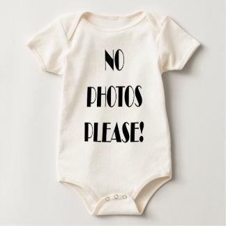 No photos please! baby bodysuit