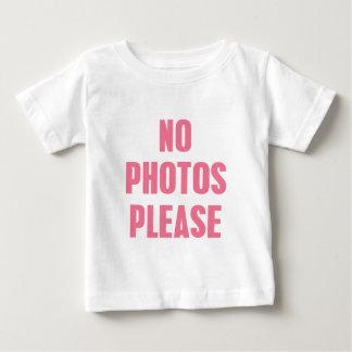 No Photos Please Shirts