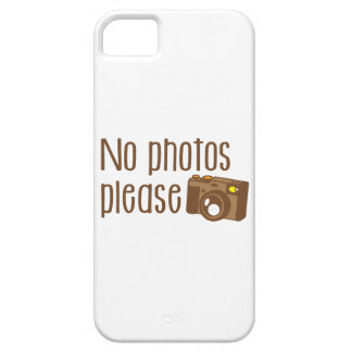 No Photos Please with vintage Camera iPhone 5 Covers
