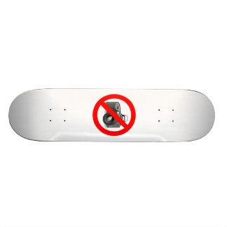 No Photos Sign Skate Board Decks
