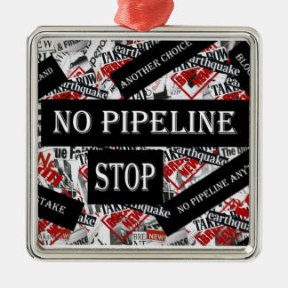 NO PIPELINE CHRISTMAS ORNAMENT