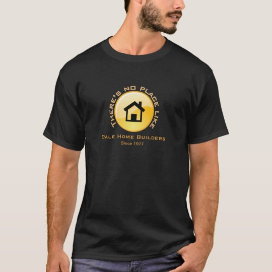 No Place Like Home Button T-Shirt