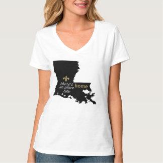 No Place Like Home - Louisiana Tshirt