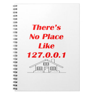 no place like home note book