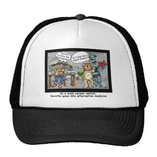 No Place Like Homeopathy Funny Cartoon Gifts & Tee Cap