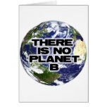 No Planet B Greeting Card