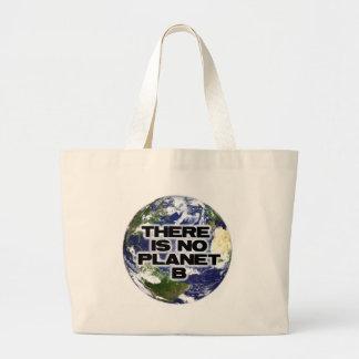 No Planet B Large Tote Bag
