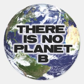 No Planet B Round Sticker
