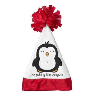 No Poking The Penguin Santa Hat