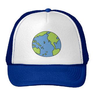 No Polluter Hooter Earth & Recycle Symbols Cap