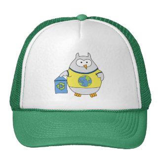 No Polluter Hooter Mesh Hat