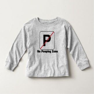 No Pooping Zone Shirts