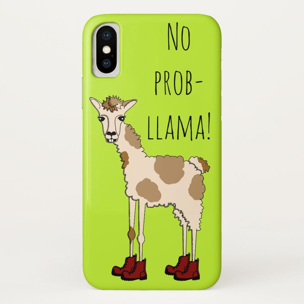 No Prob- Llama Case-Mate iPhone Case