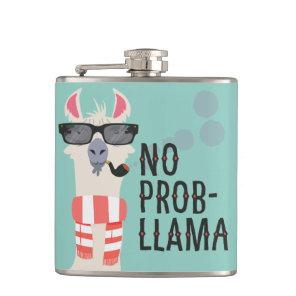 No Prob-Llama Hip Flask