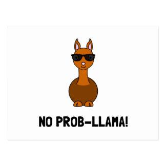 No Prob Llama Postcard