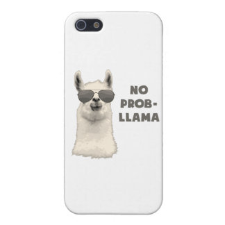 No Problem Llama iPhone 5 Case